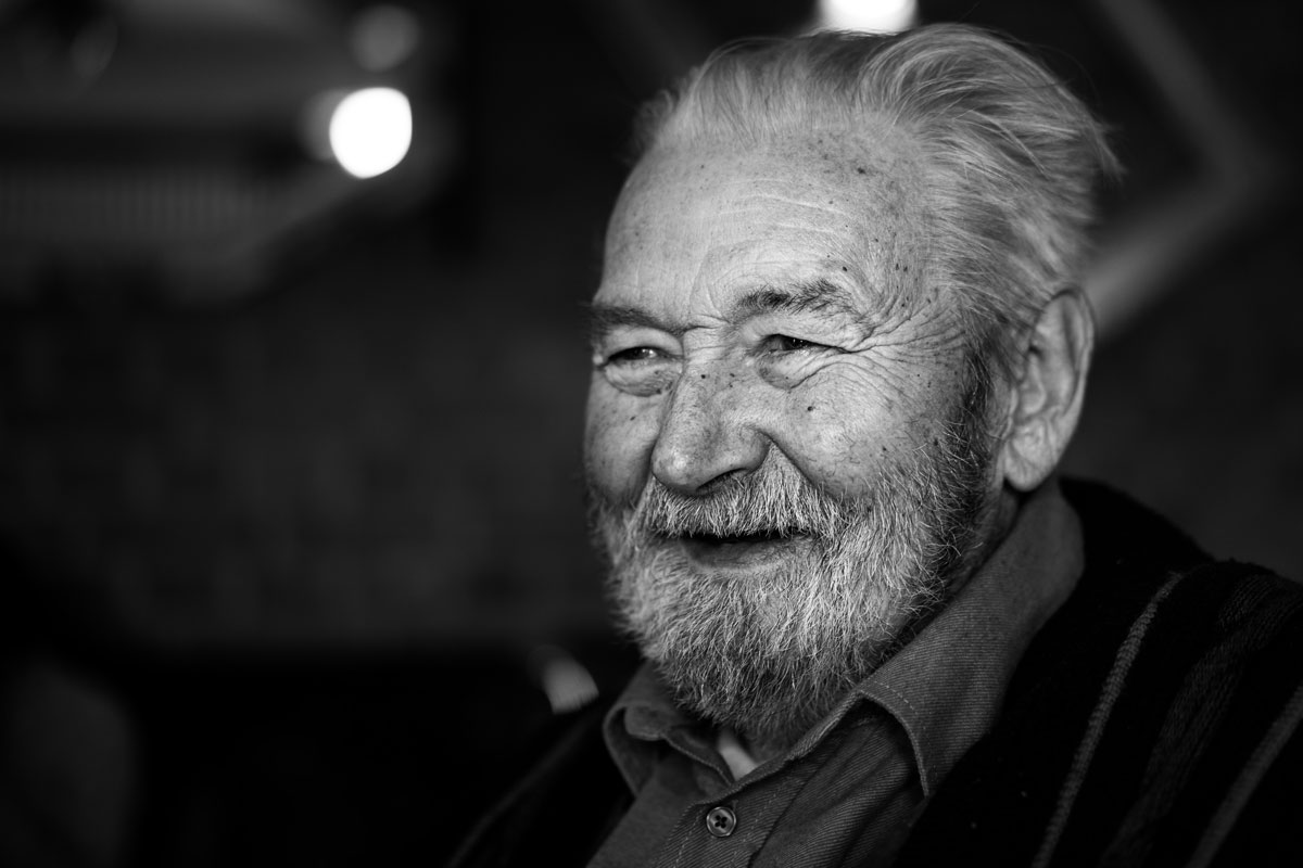Can laughter help overcome depression. This old man laughing thinks so