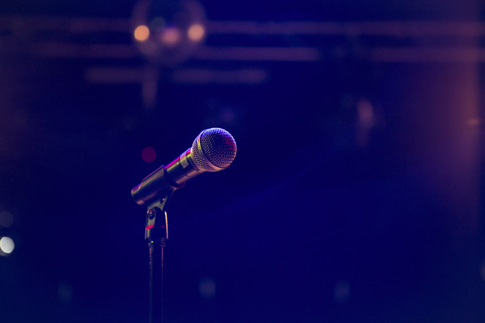 Microphone representing creativity. how to stop feeling lonely