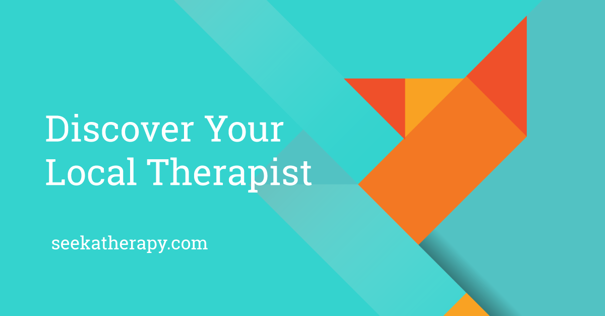 There are many types of therapy available at seekatherapy.com. Discover your lcoal therapist